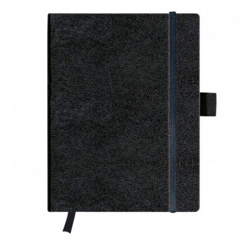 Agenda Herlitz My.Book A4, coperta piele sintetica neagra