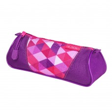 Necessaire Herlitz triunghiular Pink Cubes