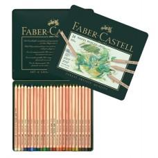 Creioane color Pastel Pitt 24 culori Faber-Castell
