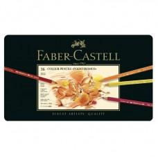 Creioane colorate Polychromos 36 culori Faber-Castell
