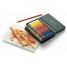Creioane colorate Polychromos 36 culori, cutie studio, Faber-Castell