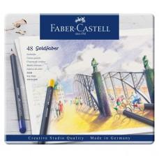 Creioane colorate Goldfaber 48 culori Faber-Castell